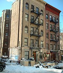 west side apartment building