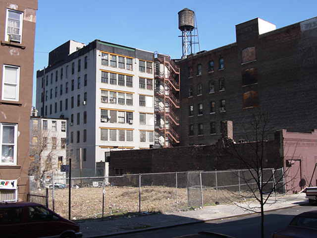 Harlem development site