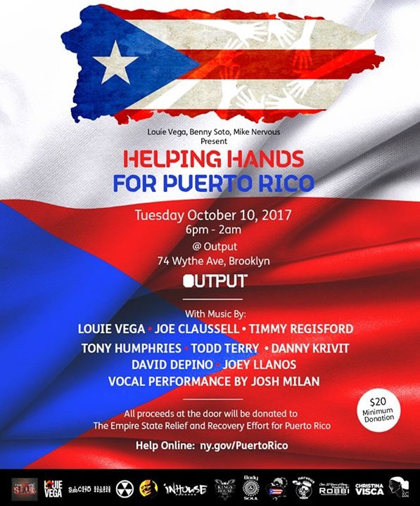 louie vega dance for puerto rico