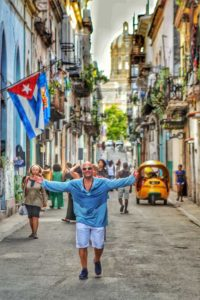 roaming the street in Havana Cuba