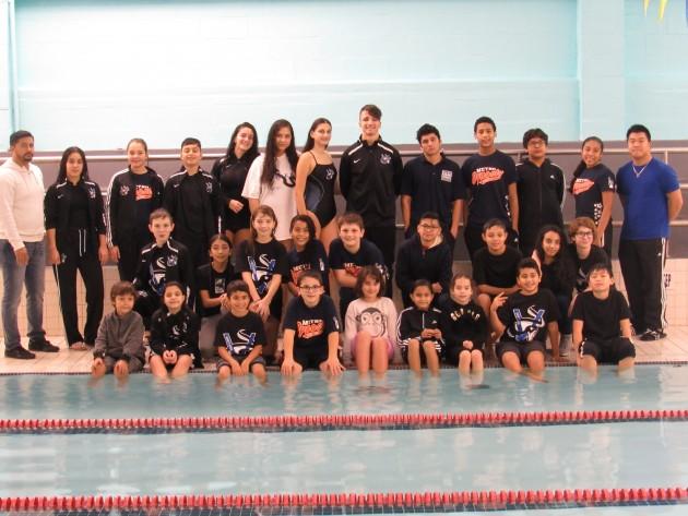 Boy and Girls Club Swim Team