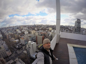 rooftop views of Buenos Aires