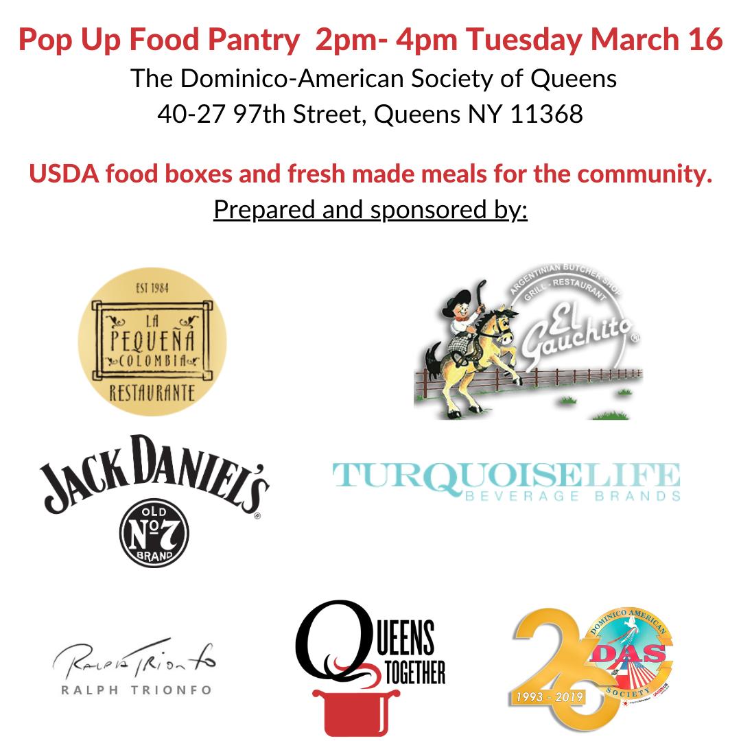 Corona NY pop-up food event